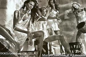 Marina Linchuk for Dolce&Gabanna Campaign, SS2011