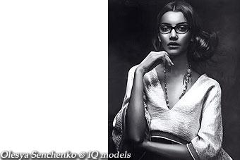 Olesya Senchenko for Vogue Italy