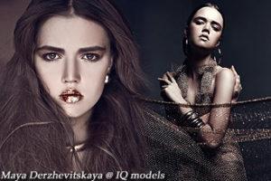 Maya Derzhevitskaya 1st test by K. Belinskaya