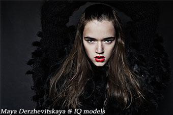 Maya Derzhevitskaya 1st test by Markus Lambert