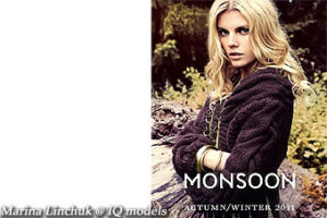 Marina Linchuk for Moonsoon campaign