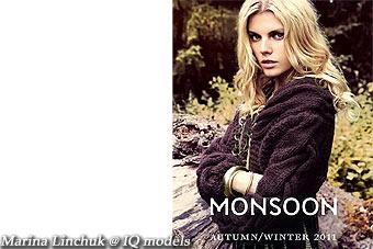 Marina Linchuk for Moonsoon campaign