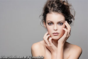 Irina Shnitman first ever beauty test