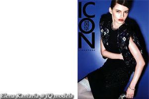 Elena Kantaria cover for Icon, Singapore