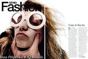 Inna Pilipenko for Style Fashion