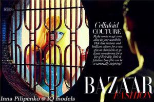 Inna Pilipenko for Harper's Bazaar, Nov 2011