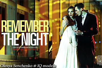 Olesya Senchenko for The Finer Life, Dec 2011