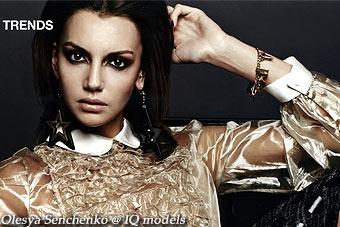 Olesya Senchenko for Her World, Dec 2011