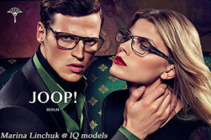 Marina Linchuk for JOOP! Eyewear campaign