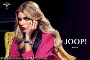 Marina Linchuk for JOOP! campaign