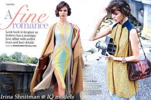 Irina Shnitman for Women's Weekly