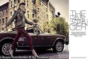 Olesya Senchenko for Be Magazine France