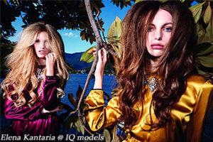 Elena Kantaria for Vogue Italy