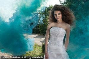 Elena Kantaria for Le Spose campaign