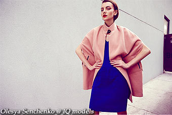 Olesya Senchenko for Look Magazine, UK