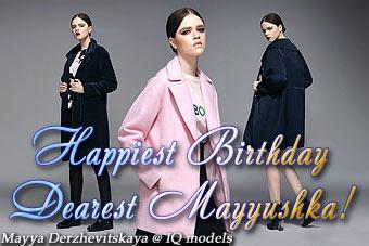 Mayya Derzhevitskaya for Ifchic catalogue