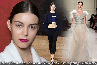Irina Shnitman at New York FW Spring 2016