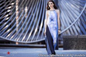 Olesya Senchenko for Macy's USA campaign