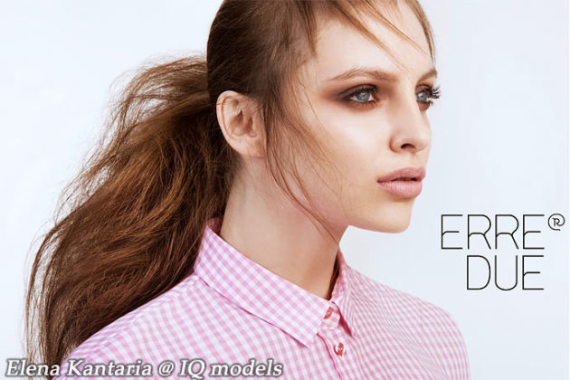 Elena Kantaria for Erre Due campaign