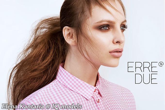 Elena Kantaria for Erre Due campaign