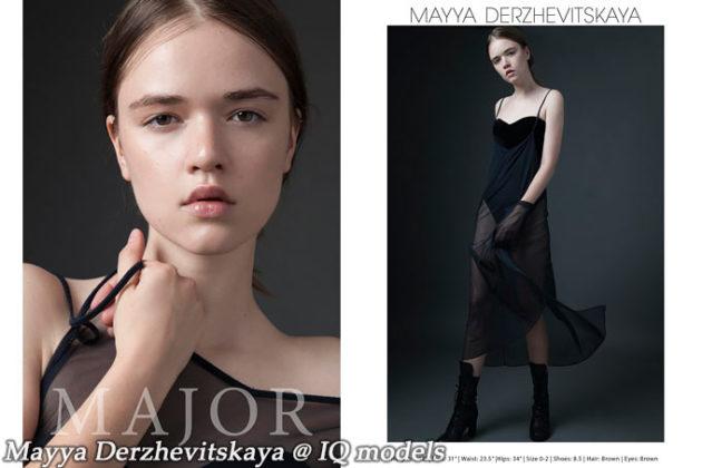Mayya Derzhevitskaya Show Card @ Major NY