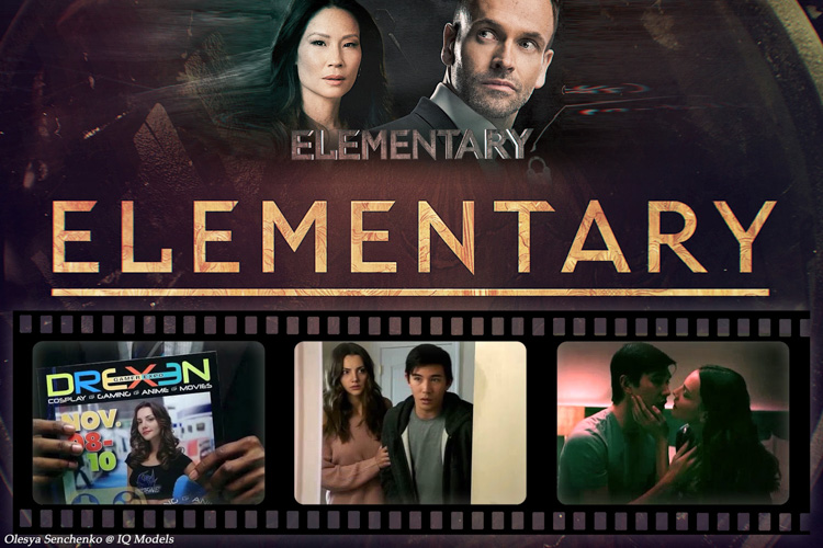 Olesya Senchenko in 'Elementary' TV series, season 5, episode 14
