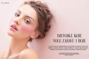 Olesya Senchenko for Gloria Glam Beauty
