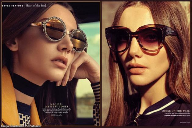 Olesya Senchenko for 20/20 magazine, March 2017