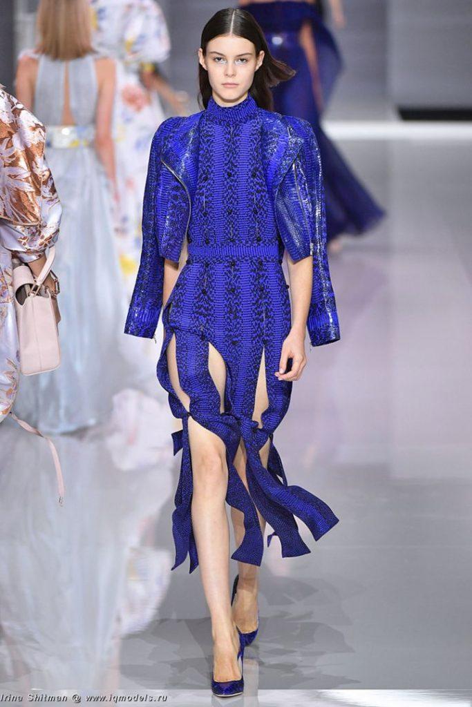 Irina Shnitman at London FW Fall 2017 - IQ Models Agency