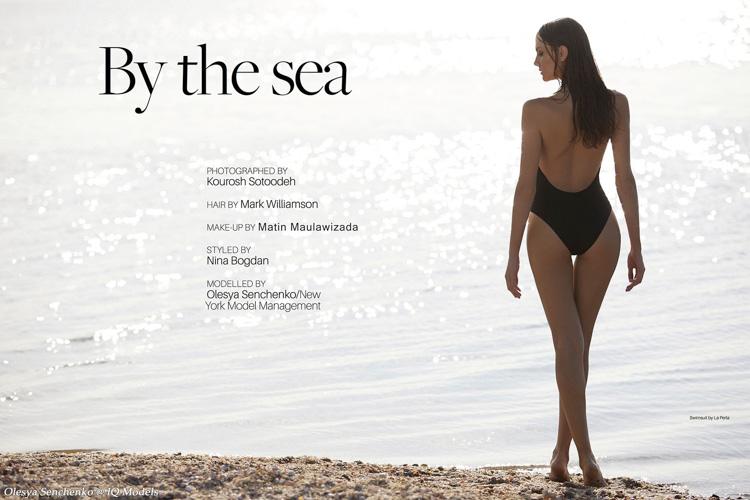 Olesya Senchenko for Lucire magazine