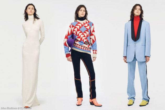 Irina Shnitman for Calvin Klein Resort