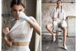Olesya Senchenko for D wedding magazine