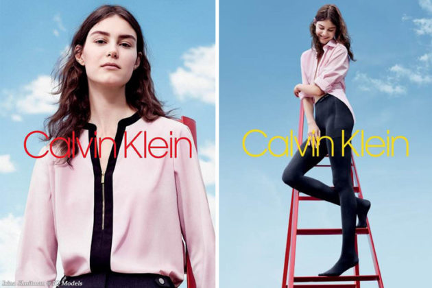 Irina Shnitman for Calvin Klein Main Label FW2018 Campaign by Willy Vanderperre