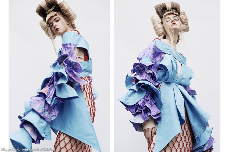 Mayya Derzhevitskaya by Natalia Kogan for Marina Roy Hair Shool
