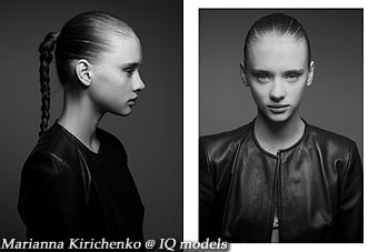 Marianna Kirichenko 2nd test @ Women Paris