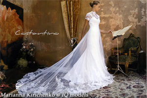 Marianna Kirichenko for Costantin catalogue