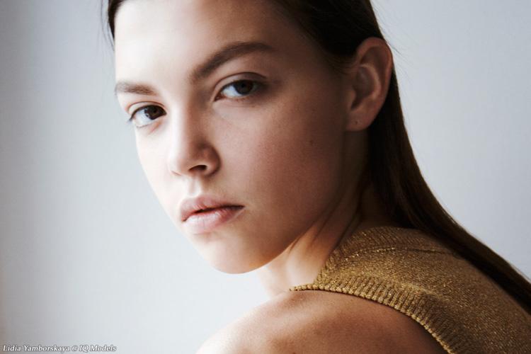 Lidia Yamborskaya 1 ever test @ IQ Models