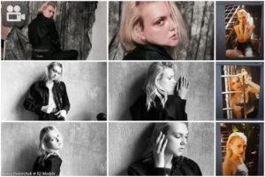Katya Fedorchuk backstage shooting