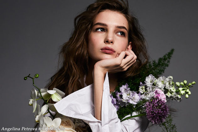 Angelina Petrova by Grigoriy Shelukhin