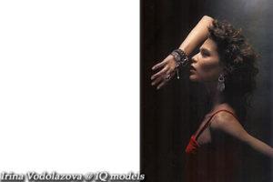 Irina Vodolazova for L'Officiel Dec'04 – Jan'05