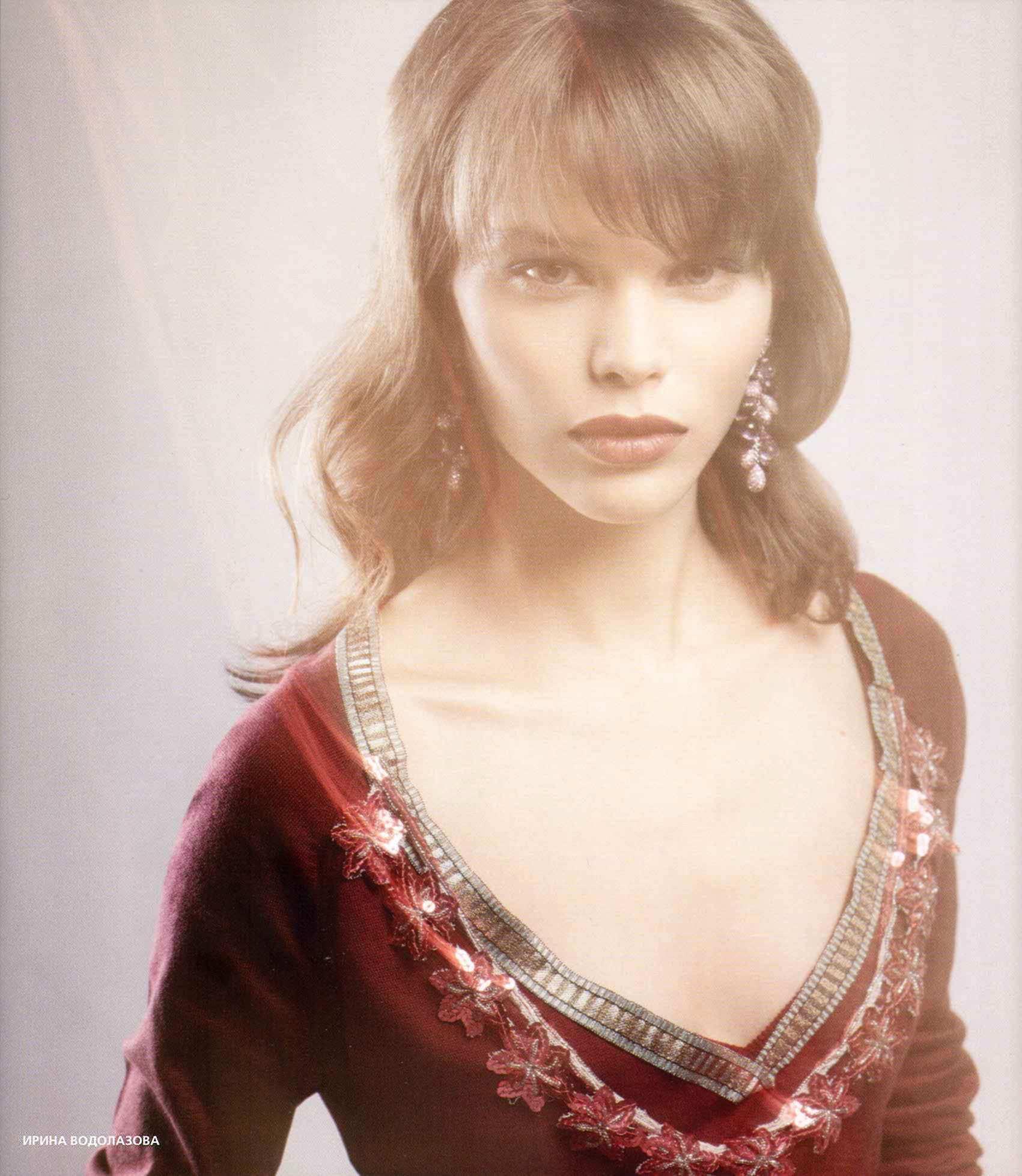 Irina Vodolazova for Anna Riska campaign - IQ Models Agency