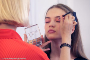 Liza Nedobey for Dior Make Up Day