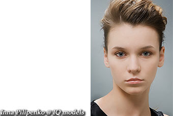 Inna Pilipenko first ever tests @IQ models