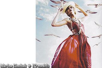 Marina Linchuk for Numero #78, Nov'06