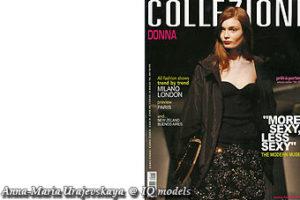 Anna-Maria Urajevskaya Cover for Collezioni Donna