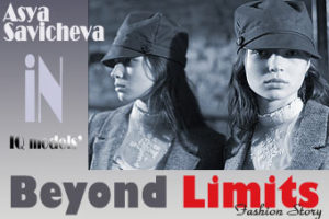 Asya Savicheva in 'Beyond Limits' Fashion Story