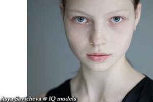 Asya Savicheva first ever tests @ IQ models