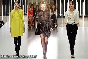 Marina Linchuk @ London's Fashion Week, Feb'06
