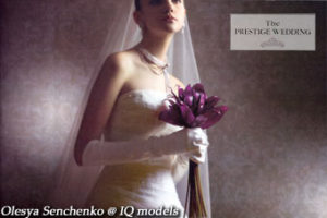 Olesya Senchenko for Prestige Wedding Catalogue