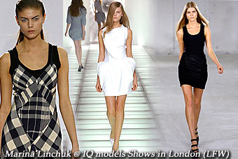 Marina Linchuk Shows in London, Spring'07